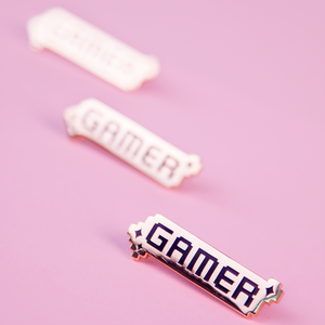 Load image into Gallery viewer, Pixelated Gamer Pin