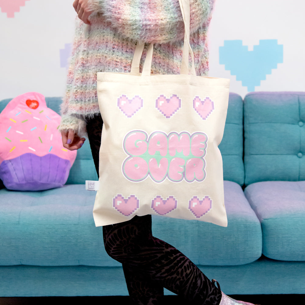 Pastel Gamer Kawaii Tote bag
