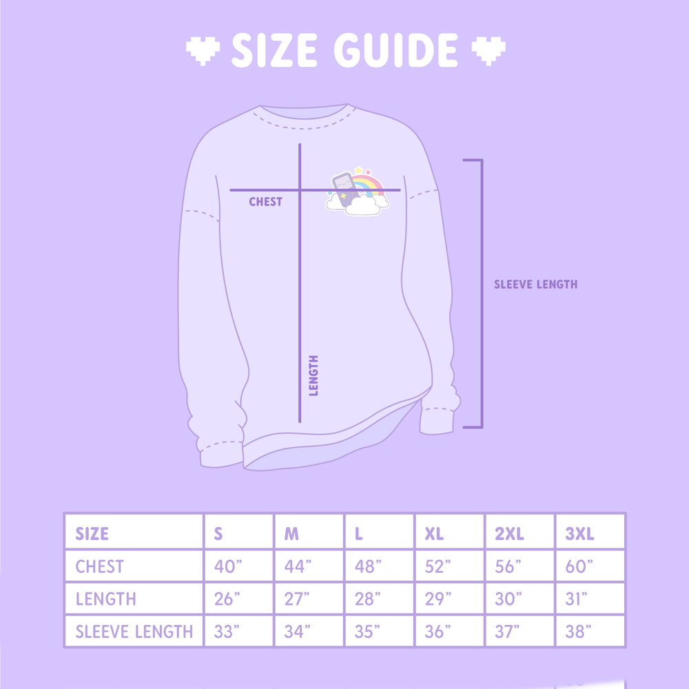 Adult Lavender Love Crewneck