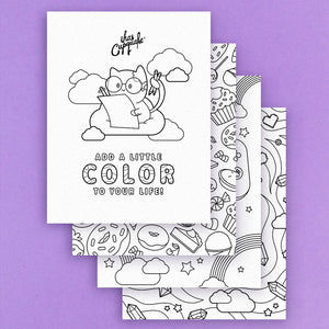 Coloring Pages (Digital Download)