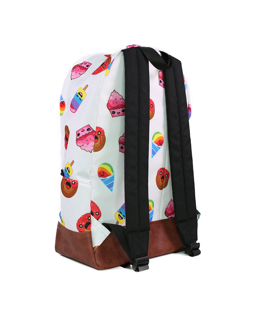Sweet Friends iHasCupquake Backpack (White/Red)