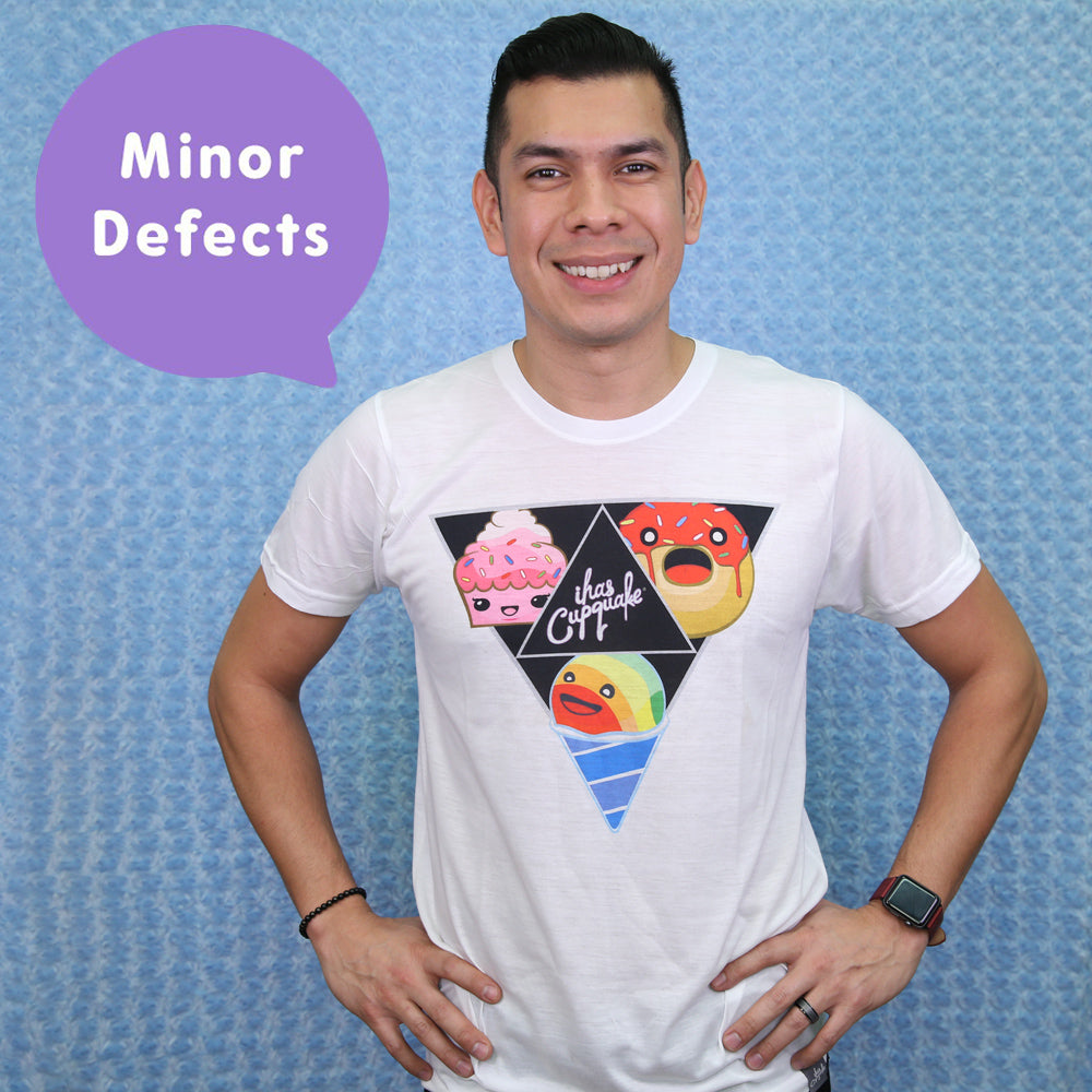 Adult Triforce T-shirt (SAMPLE w/ Minor Defects)