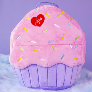 Plush Cupcake Backpack