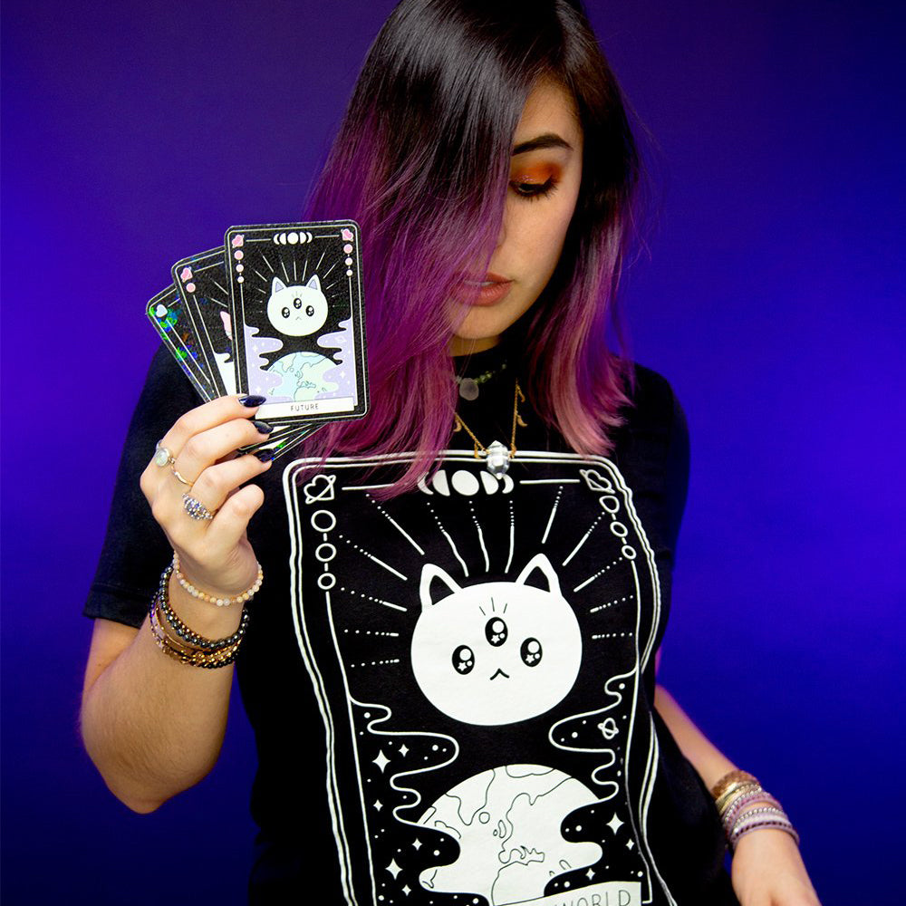 Load image into Gallery viewer, Out Of This World Tarot T-shirt
