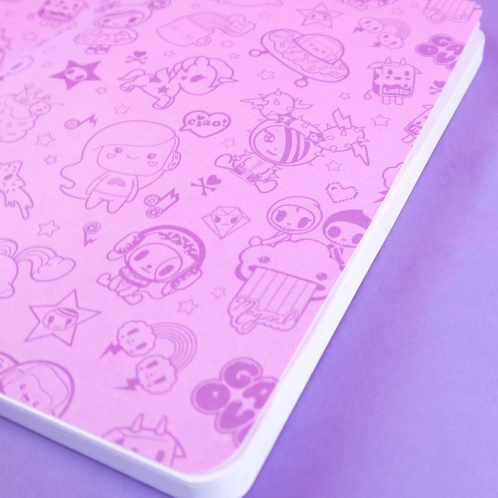 Load image into Gallery viewer, tokidoki x iHasCupquake Notebook