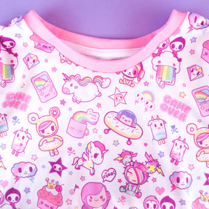 Load image into Gallery viewer, Adult tokidoki x iHasCupquake T-shirt