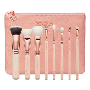 ZOEVA - ROSE GOLDEN LUXURY SET - KIT DE PINCEAUX TEINT+YEUX