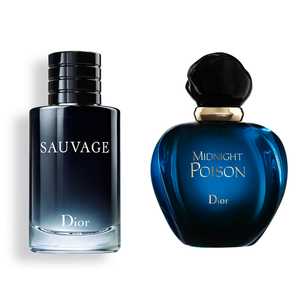 DUO DIOR POISON MIDNIGHT ET SAUVAGE 100 ML