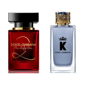 DUO DOLCE & GABBANA  THE ONLY ONE 2  ET K BY DG   100 ML