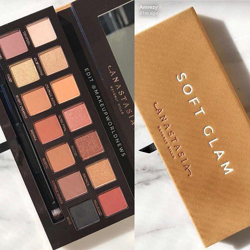 New Anastasia Beverly Hills Soft Glam Eye Shadow Palette