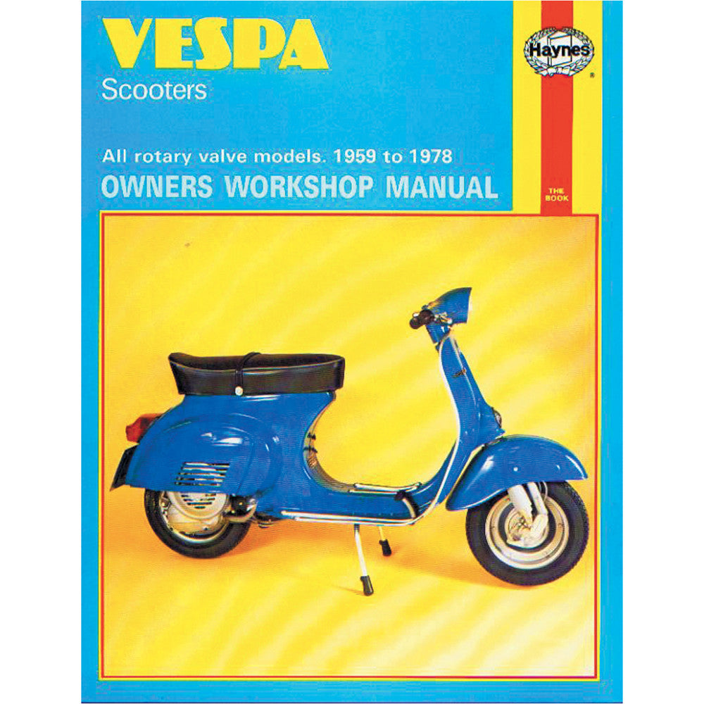 Vespa Haynes Manual For 1960s & 1970s Rotary Models