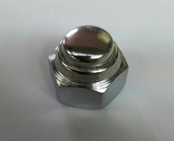 Lambretta Rear Hub Nut - Series 1 / Series 2 / Series 3 - Chrome
