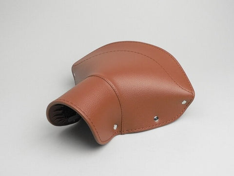 Lambretta Saddle Seat Cover - C, LC, D, LD - Front & Rear - Brown
