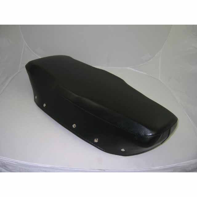 Lambretta: Seat Cover, Bench - Black - OEM Repro - DL / GP