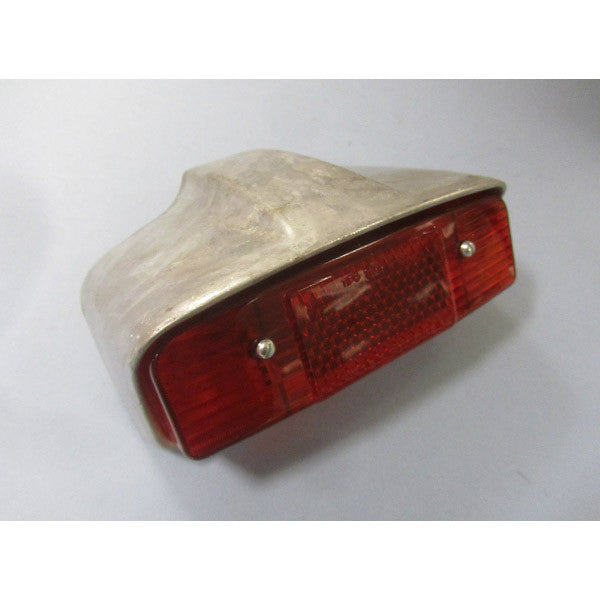 Lambretta Tail Light Housing & Lens - Series 1 / early Series 2 - Scootopia