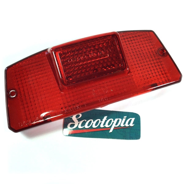 Lambretta: Tail Light Lens - DL 125 / 150 / 200 - Scootopia