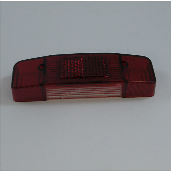 Lambretta: Tail Light Lens - Aprilia - with Brake Light