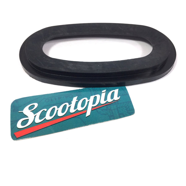 Lambretta Air Filter Oval Gasket - Rubber - late Series 2 / Series 3 / GP / early Serveta - Scootopia