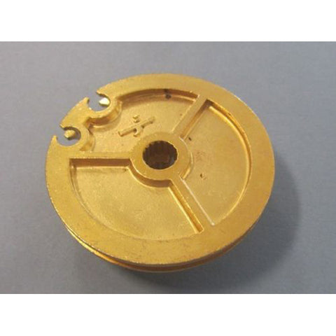 Lambretta Gear Pulley - Brass - Series 1 / Series 2 / early Series 3 - Scootopia