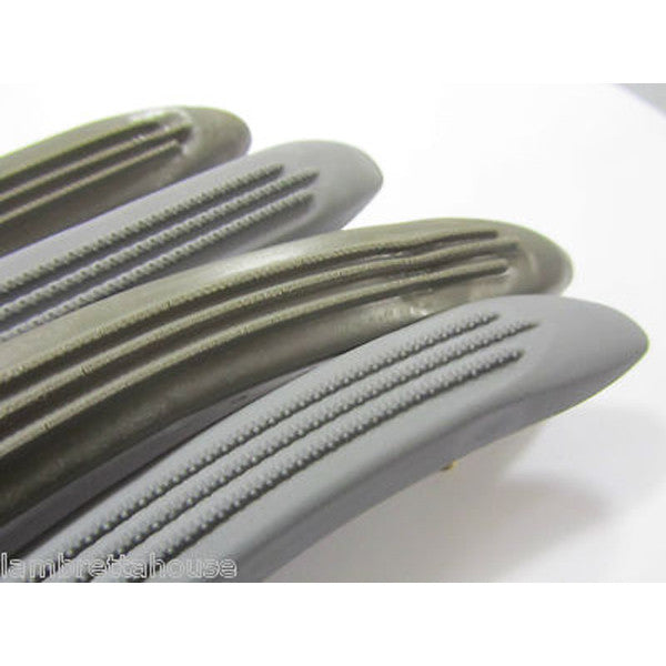 Lambretta: Floor Plastics - Set/4 - Series 1 / 2 Grey - Tutto