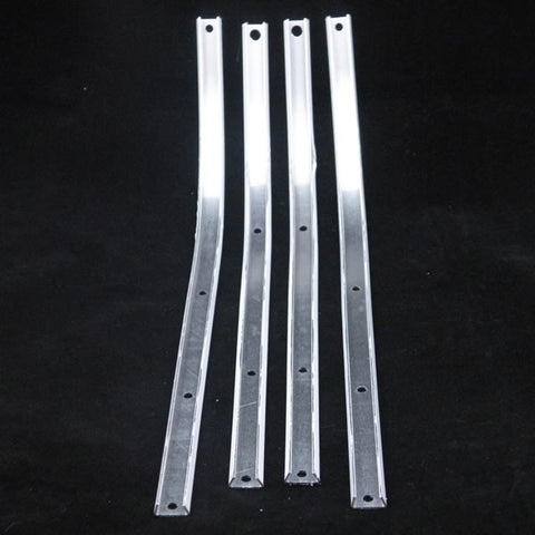 Lambretta: Floor Channel, Aluminum - Series 3/GP - Set / 4