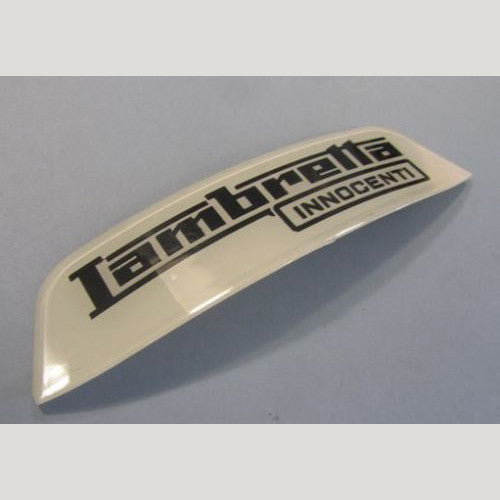 "Lambretta Rear Frame Badge - "" Lambretta Innocenti"" - 1966+ - Scootopia"