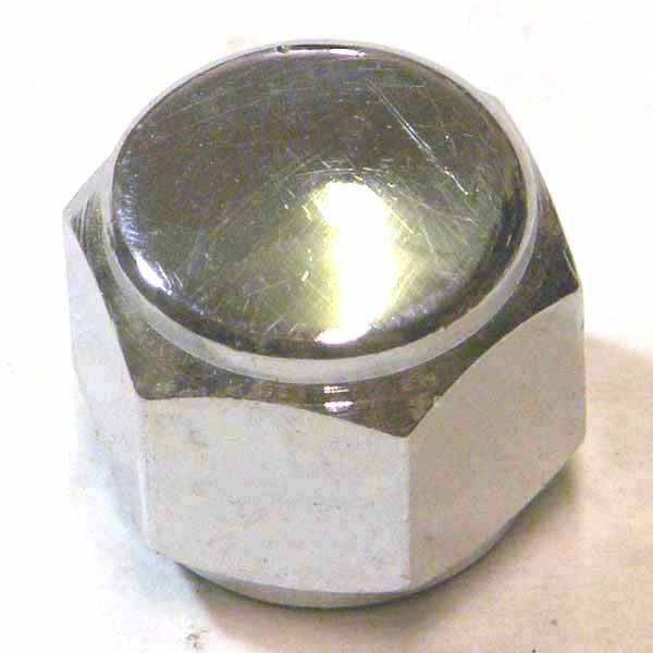 Lambretta: Wheel Nuts, Domed - Chrome 14mm