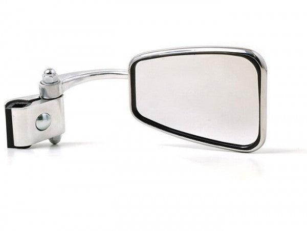 Lambretta - Vespa Trapezoidal Clamp On Mirror -RH - Stadium