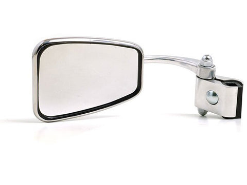 Lambretta - Vespa Trapezoidal Clamp On Mirror -LH - Stadium