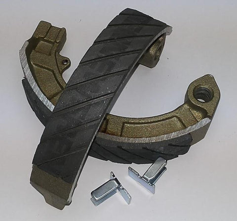 Vespa Newfren AntiAqua Brake Shoes - Front + Rear - PE / PX - Newfren