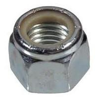 Lambretta Engine Bolt Nut - Nyloc - Zinc