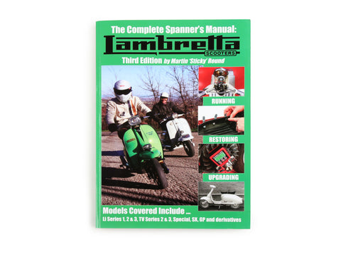 Lambretta - The Complete Spanners Manual - Third Edition - Series 1, 2 and 3
