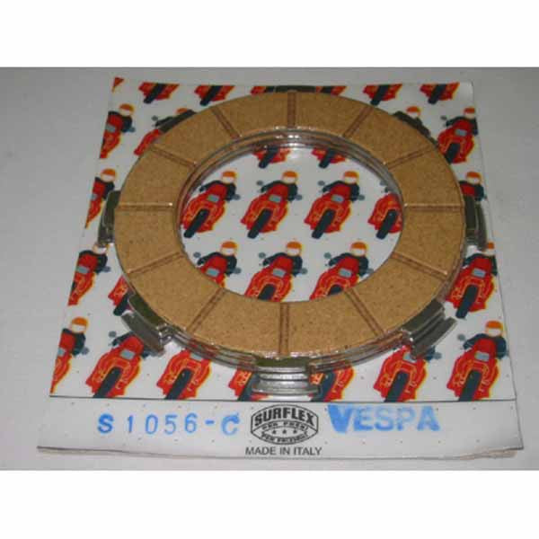 Vespa: Clutch Cork Set - 160cc, 180cc, 200cc - L.F. - Surflex
