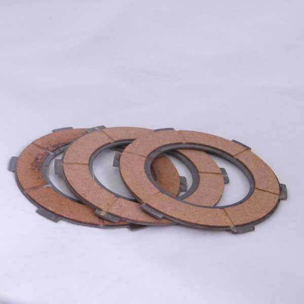 Vespa: Clutch Cork Set - most 125cc / 150cc Large Frame OEM