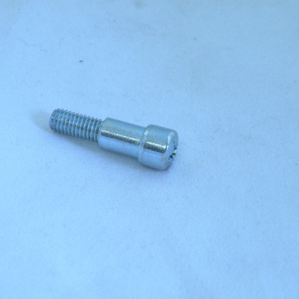 Vespa Handlebar Lever Screw with Nut - Sprint / Rally / Super / PE / PX - Slotted