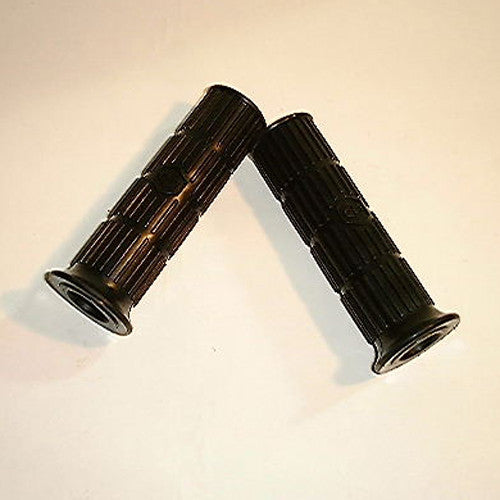Vespa: Handgrips - 24mm - ET3 - Black - Pair