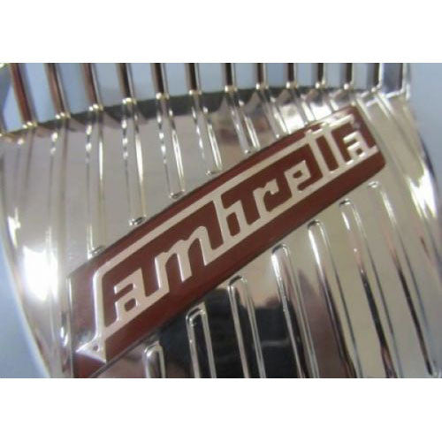 "Lambretta ""Clamshell"" Fender Accessory - S1/S2 - Red -  Scootopia"