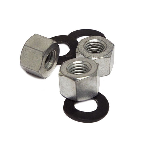 Lambretta - Deep Cylinder Stud Nut & Washer Set - Scootopia