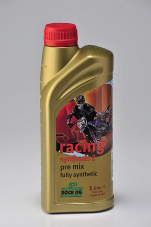Rock Oil Synthesis 2 Racing Fully Synthetic 2 Stroke Engine Oil.