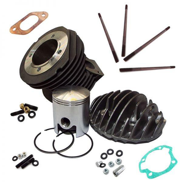 Lambretta Small Block 185cc Cylinder Kit - Scootopia