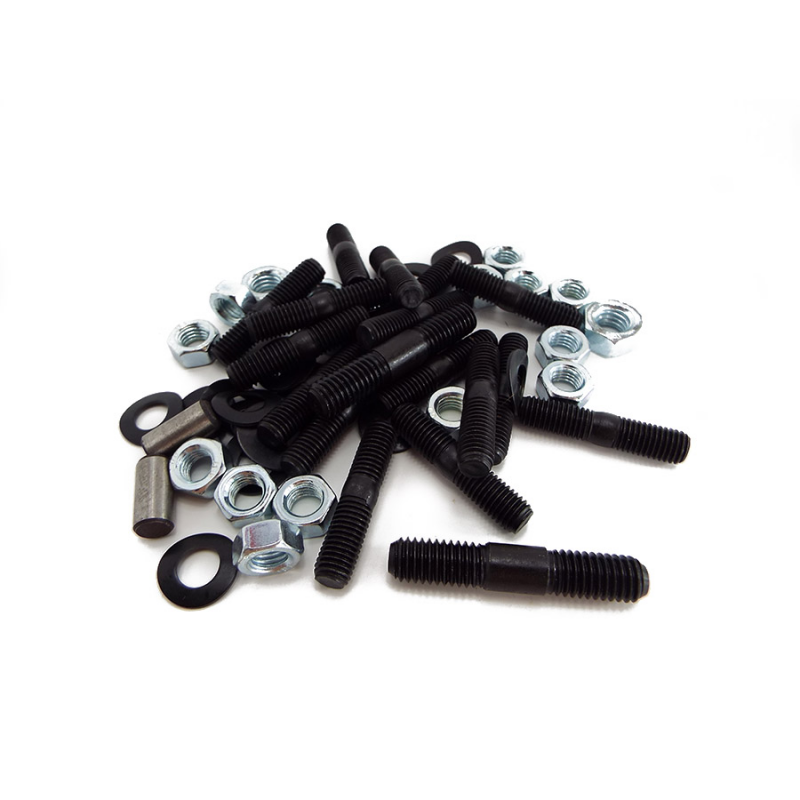 Lambretta Engine Case / Sidecase Stud, Nut & Washer Set - Scootopia
