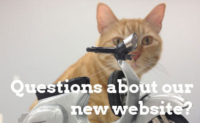 Questions about our website?