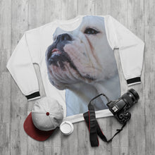 "Load image into Gallery viewer, Grateful Unisex Sweatshirt ""Mable the Bulldog"" #1"