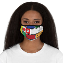 Load image into Gallery viewer, Grateful Fitted Polyester Face Mask