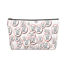 Load image into Gallery viewer, Grateful  Cosmetic Bag for Women w T-bottom