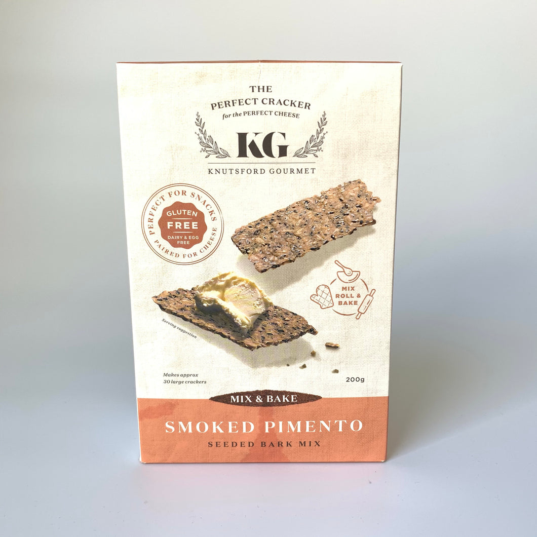 The Gourmet Box AU smoked pimento seeded bark mix