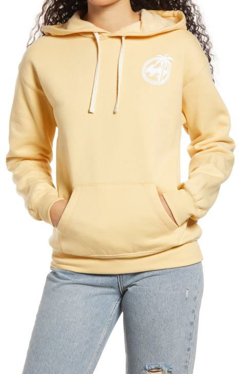 Billabong Sea dreams Crew Neck Sweatshirt Pale Yellow