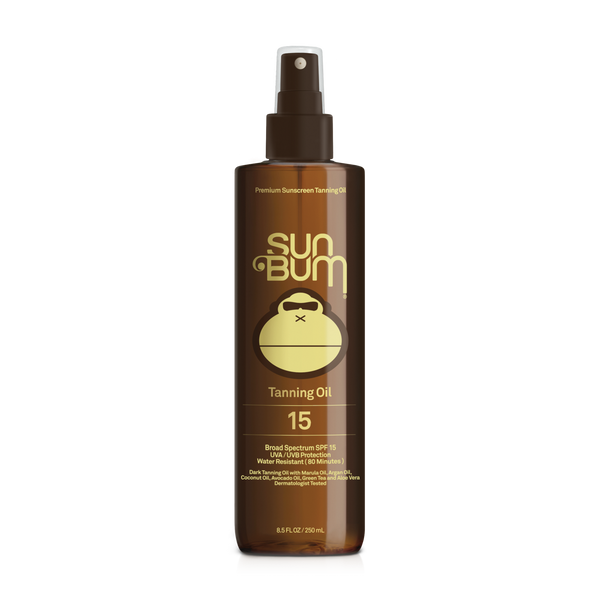 Sun Bum SPF 15 Sunscreen Tanning Oil - 8.5oz