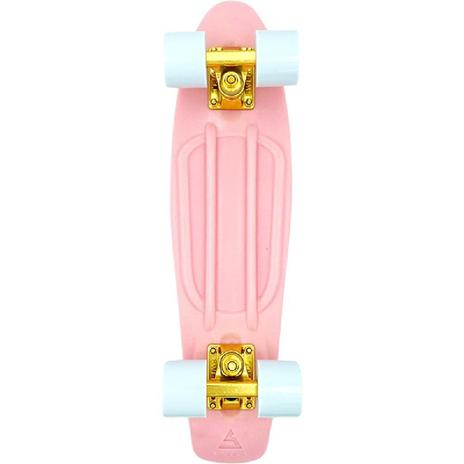 "Swell 22"" Complete Coral Pink Gold mini Skateboard"