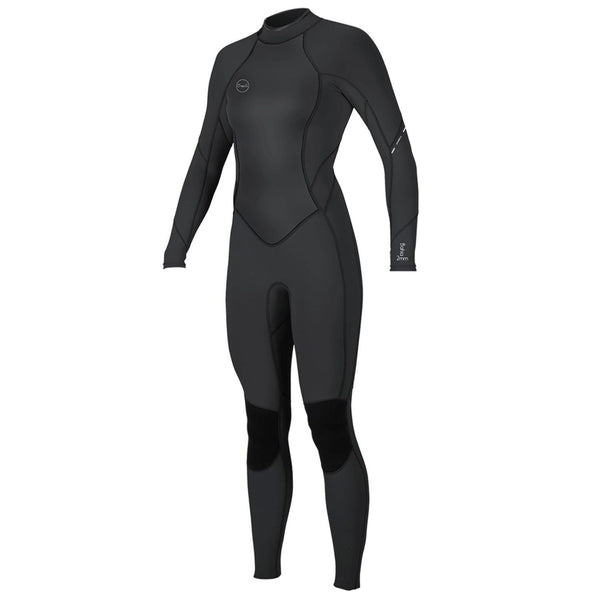 O'Neill 2021 Bahia 3/2mm Back Zip (Black/Black/Black) Women's Full Wetsuit